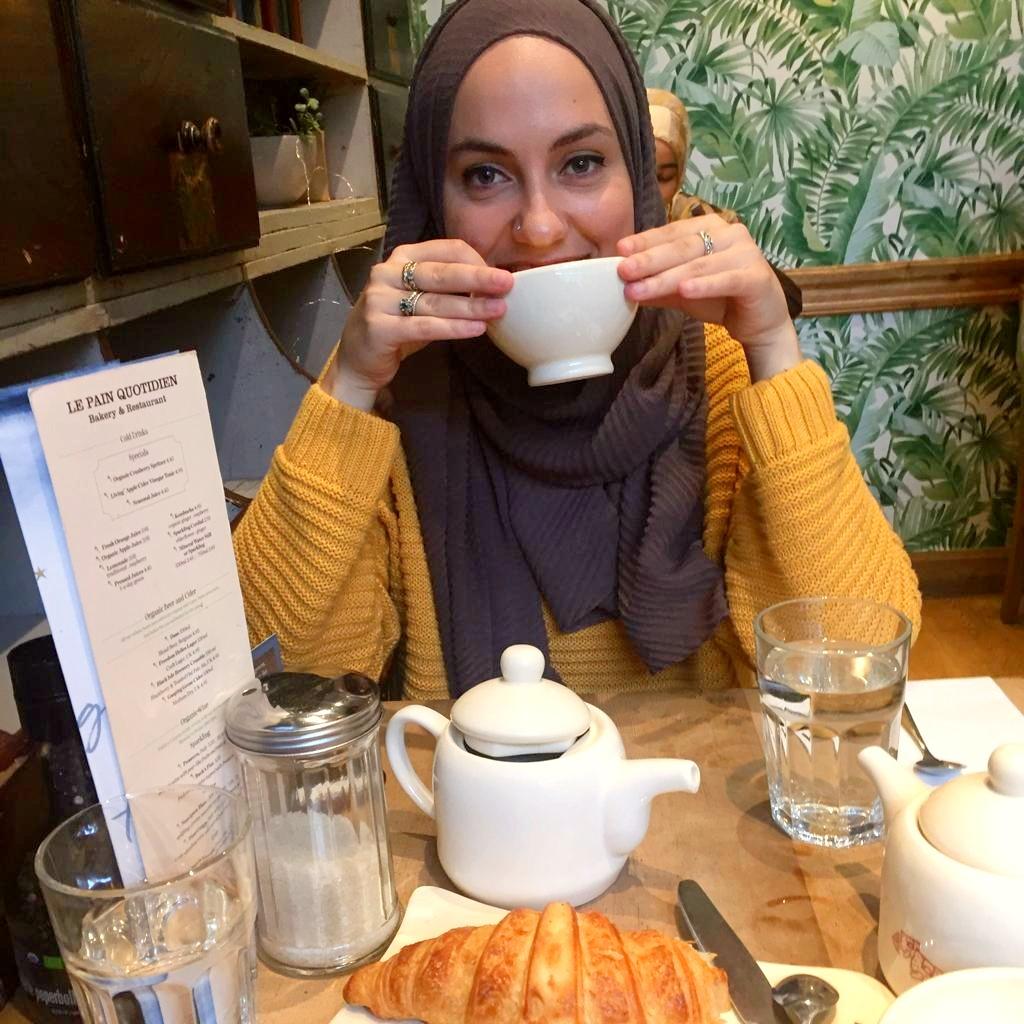 Aminah Arab works at Islamic Relief Canada.