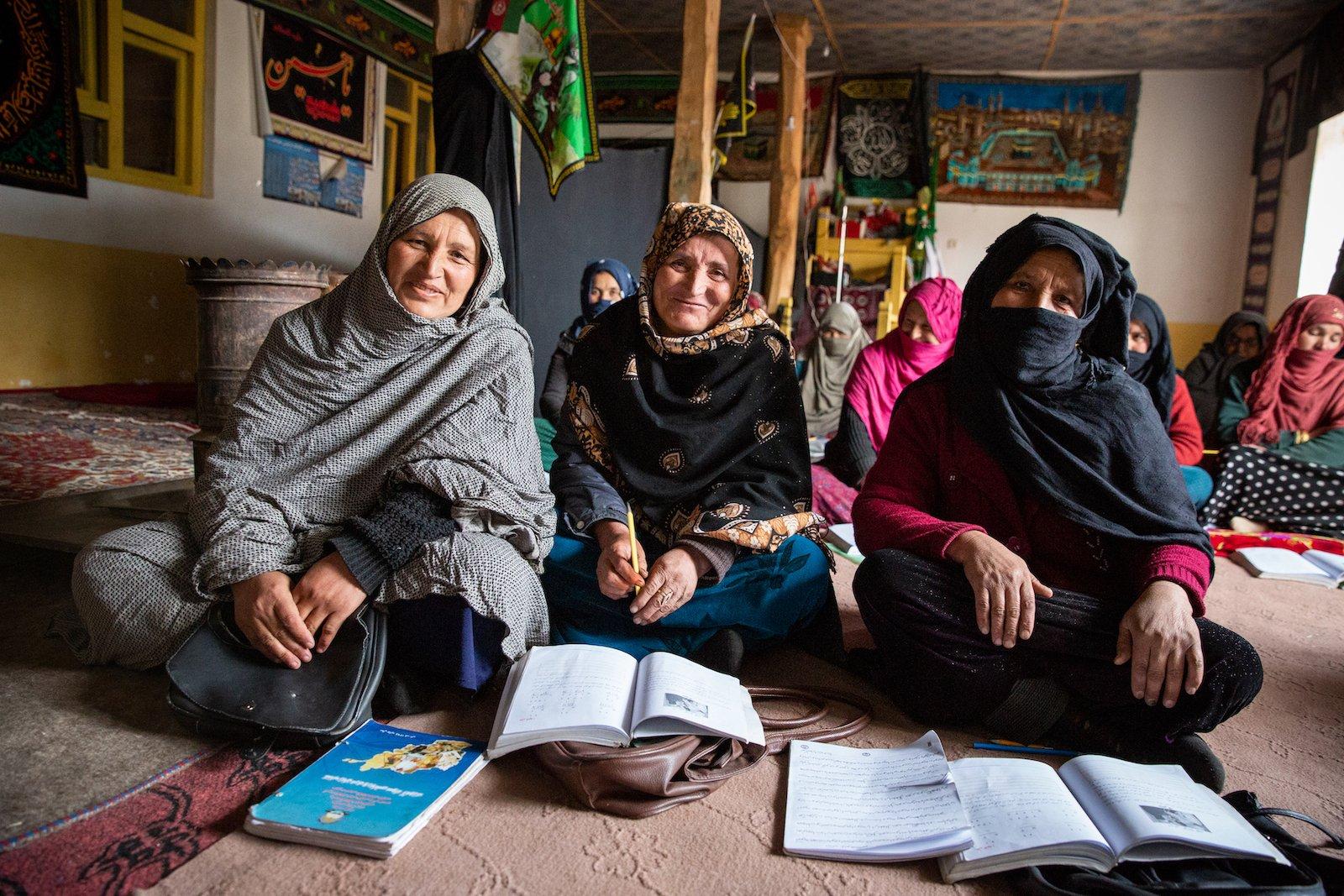 Older women studying - empowered women