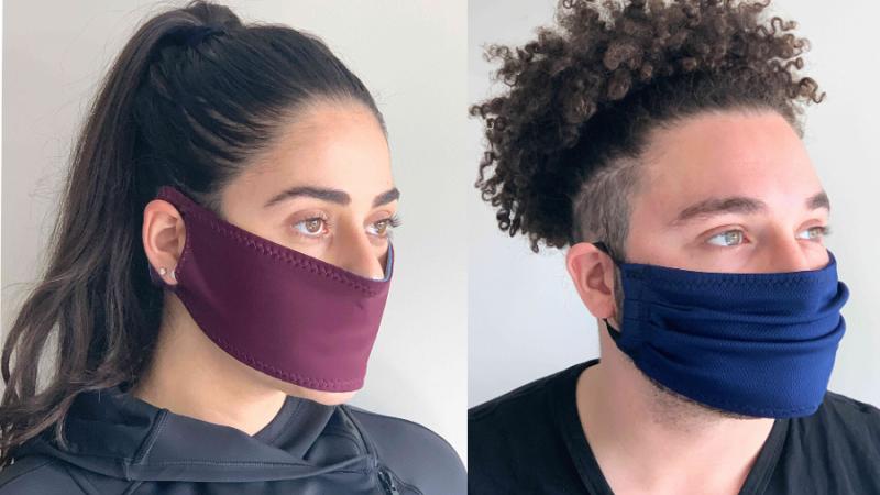 Face masks created by Sarah Abood - Humans vs. Coronavirus