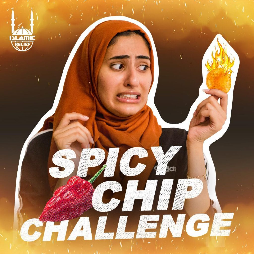 Poster for Spicy Chip Challenge